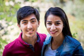 Wir haben dieses nette Paar im Ihlara-Tal in Kappadokien getroffen. Sie waren auch dabei, Fotos zu machen.